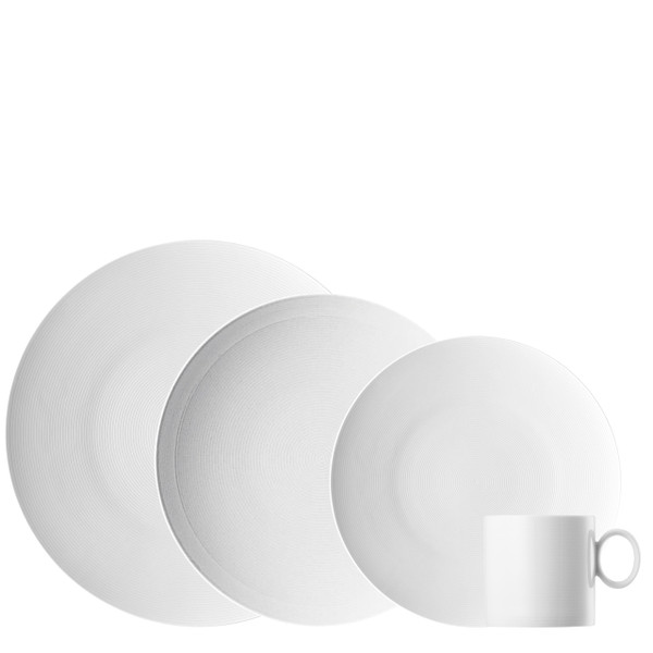 4 Piece Place Setting | Loft White