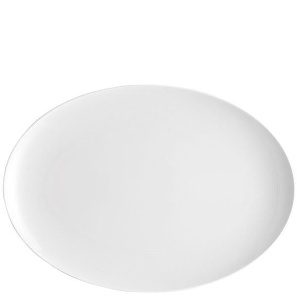 Platter, 15 3/4 inch | Thomas Loft White