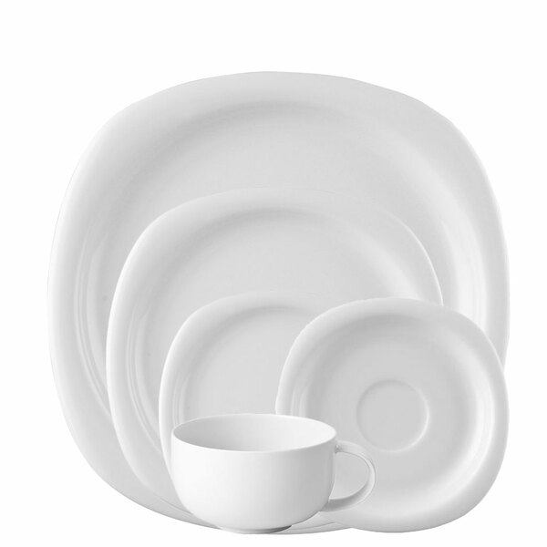 5 Piece Place Setting (5 pps) | Suomi White