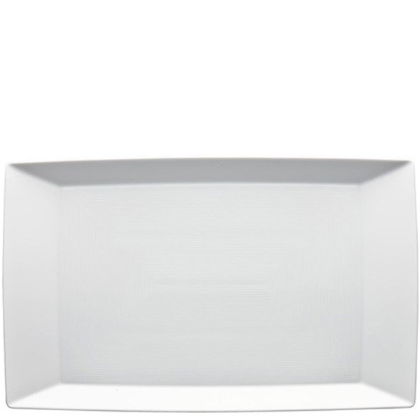 Tray/Rectangular Platter, 15 1/2 x 9 1/2 inch | Thomas Loft White