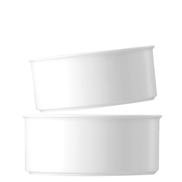 Serving Bowl Set, 2 pieces | Medaillon White