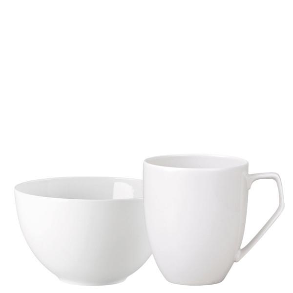 Breakfast Set (mug & bowl) | TAC 02 White