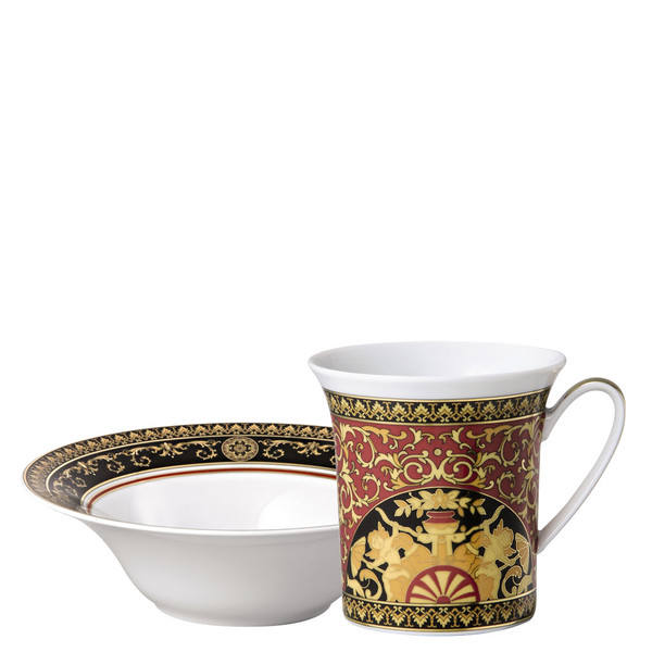 write a review for Breakfast Set (mug & bowl) | Medusa Red