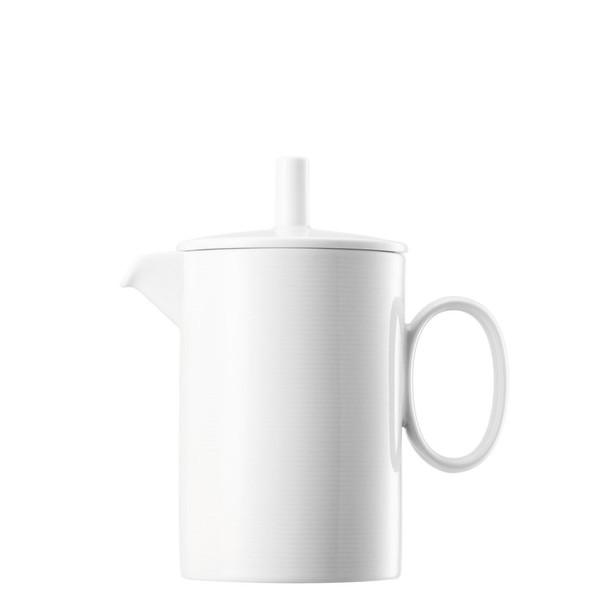 Coffee Pot, 38 ounce   Thomas Loft White