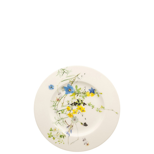 write a review for Plate with Rim, 7 1/2 inch | Brillance Fleurs des Alpes
