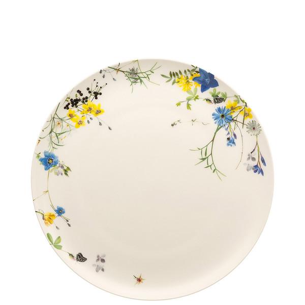 Plate, Flat, Coupe, 10 1/2 inch | Brillance Fleurs des Alpes