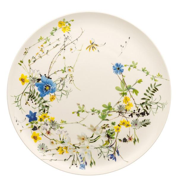 Platter, Coupe, 12 1/2 inch | Brillance Fleurs des Alpes