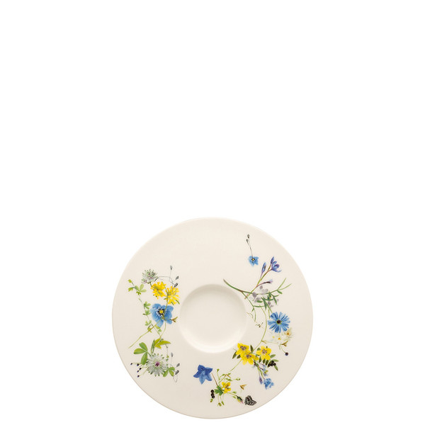 write a review for Tea Saucer / Cappuccino Saucer, 6 1/4 inch | Brillance Fleurs des Alpes