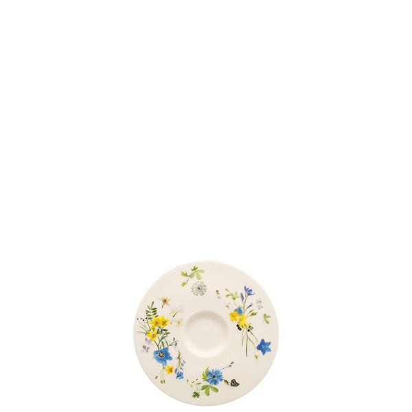 Espresso Saucer, 4 3/4 inch | Brillance Fleurs des Alpes
