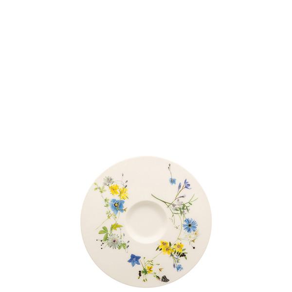 Coffee Saucer, 6 1/8 inch | Brillance Fleurs des Alpes