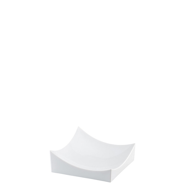Dish, White, 5 1/2 x 5 1/2 inch | Roof