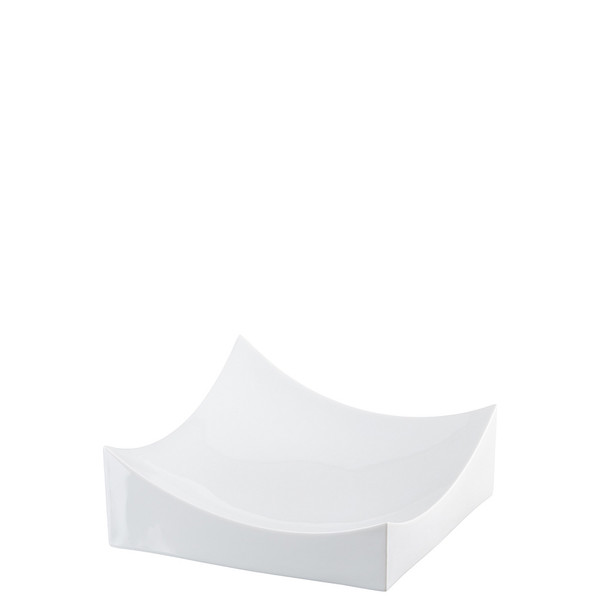 Dish, White, 8 x 8 inch | Roof