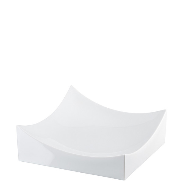Dish, White, 10 1/4 x 10 1/4 inch | Roof