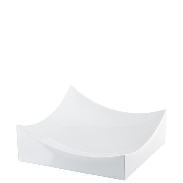 Dish, White, 10 1/4 x 10 1/4 inch   Roof