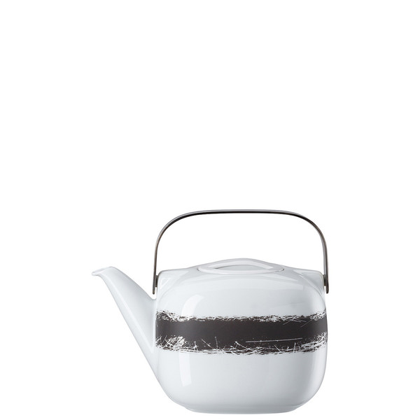 Tea Pot with Metal Handle, 45 ounce | Suomi Ardesia