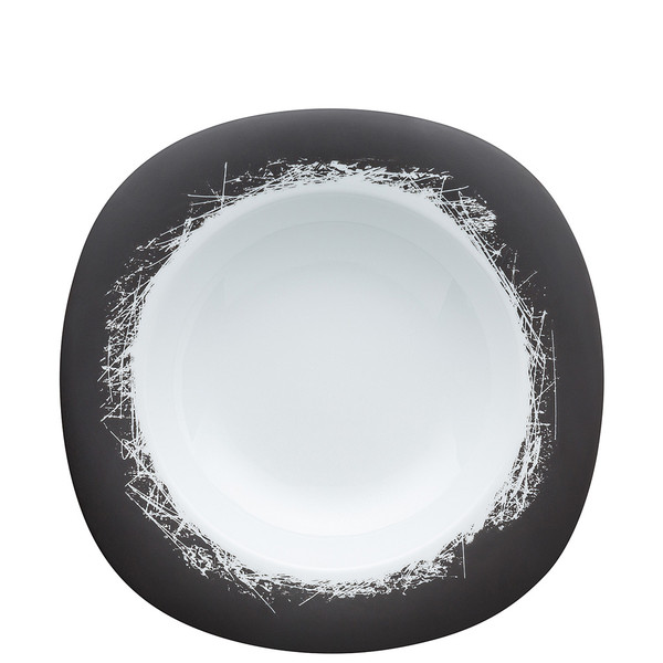 Pasta Plate, Wide Rim, 12 inch   Suomi Ardesia