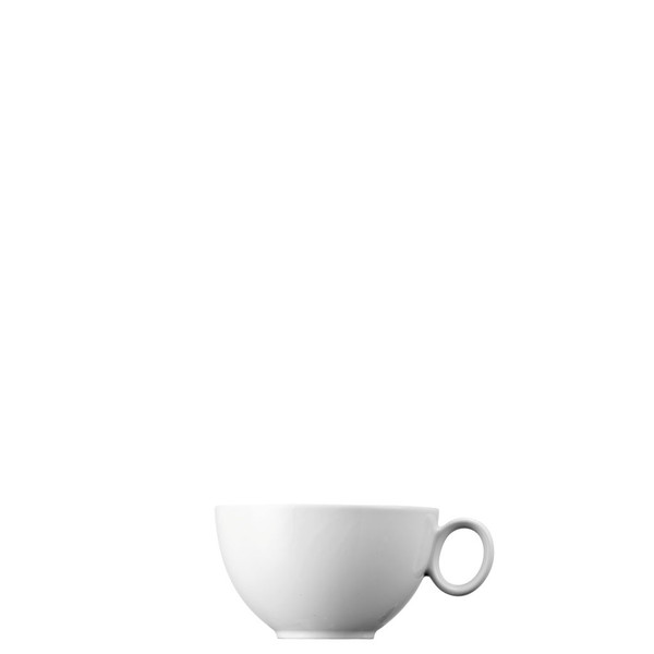 Tea Cup, Low, 8 ounce | Thomas Loft White