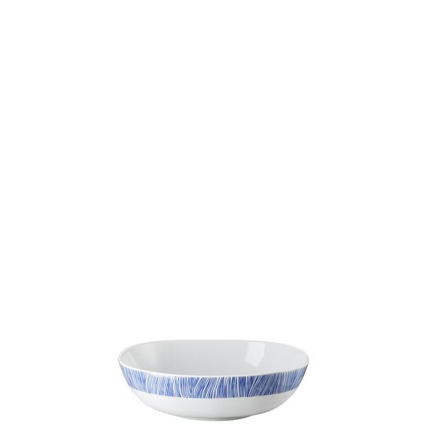Cereal Bowl, 17 ounce   Moon Cipango Blue