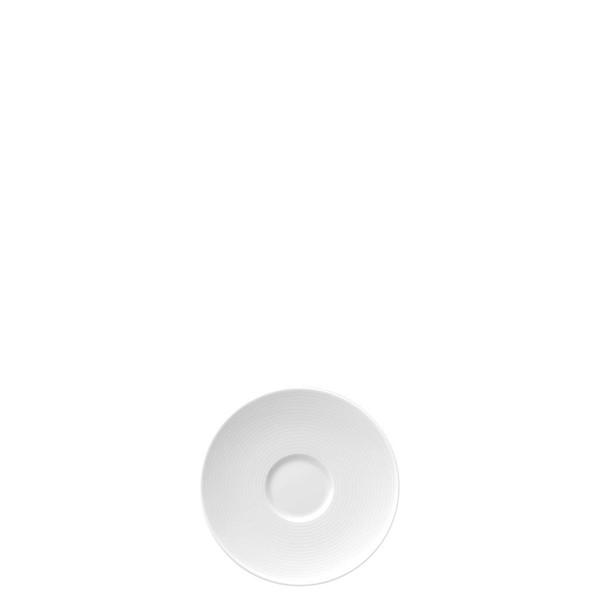 Espresso Saucer, 4 1/2 inch | Thomas Loft White