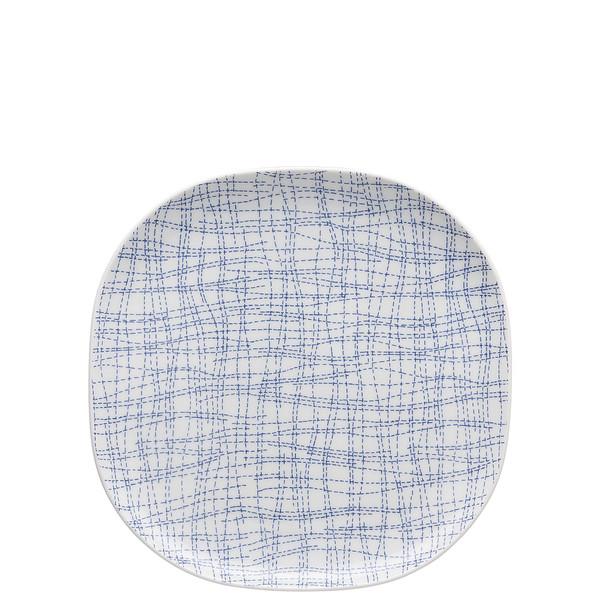 Platter, 9 1/2 inch | Moon Cipango Blue