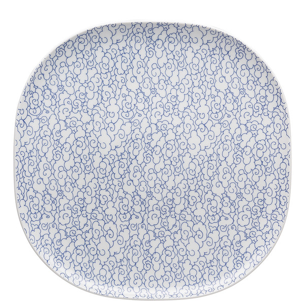write a review for Platter, 12 1/4 inch | Moon Cipango Blue
