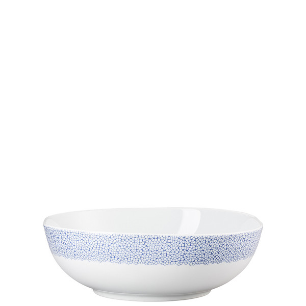 Vegetable Bowl, Open, 10 inch, 80 ounce | Moon Cipango Blue