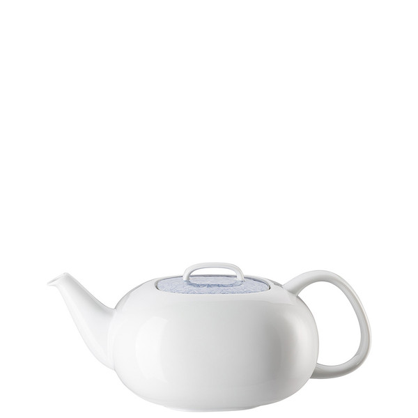 write a review for Tea Pot, 51 ounce | Moon Cipango Blue