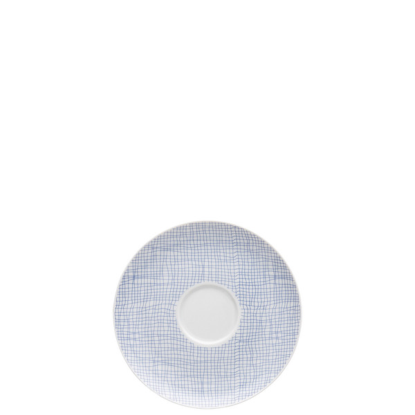 Tea Saucer, 6 inch   Moon Cipango Blue