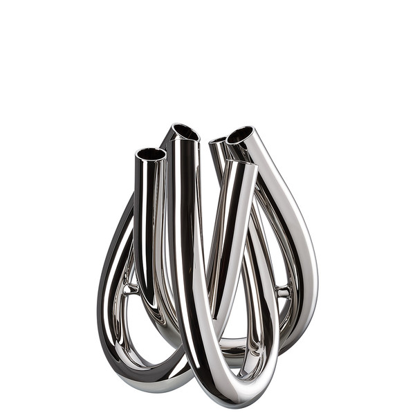 Vase, Silver, 8 1/2 inch | Triu