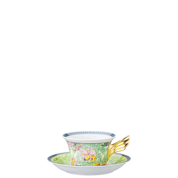 write a review for Tea Cup & Tea Saucer | 25 Years D.V. Floralia