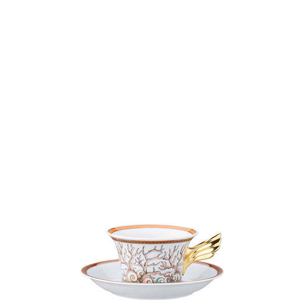write a review for Tea Cup & Tea Saucer | 25 Years Etoiles de la Mer