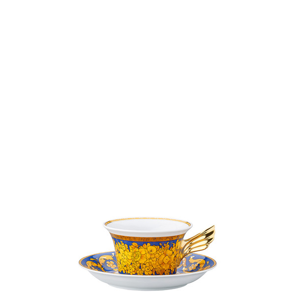 Tea Cup & Tea Saucer | 25 Years Floralia Blue