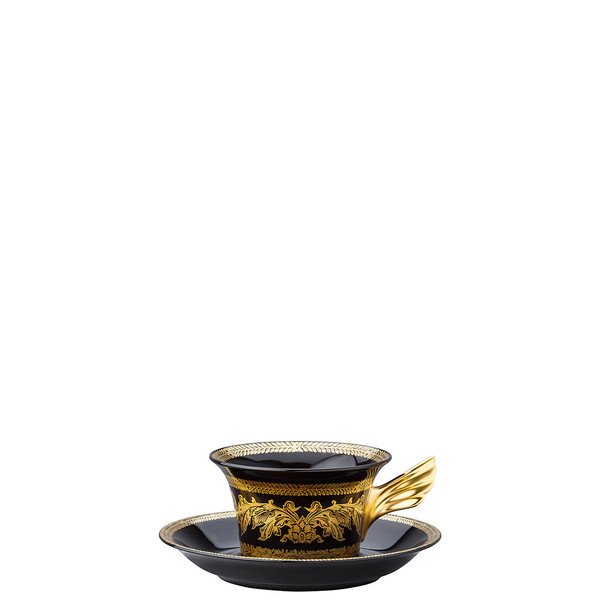 write a review for Tea Cup & Tea Saucer | 25 Years Gold Baroque