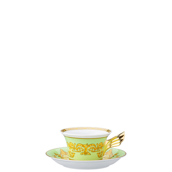 write a review for Tea Cup & Tea Saucer | 25 Years Green Floralia