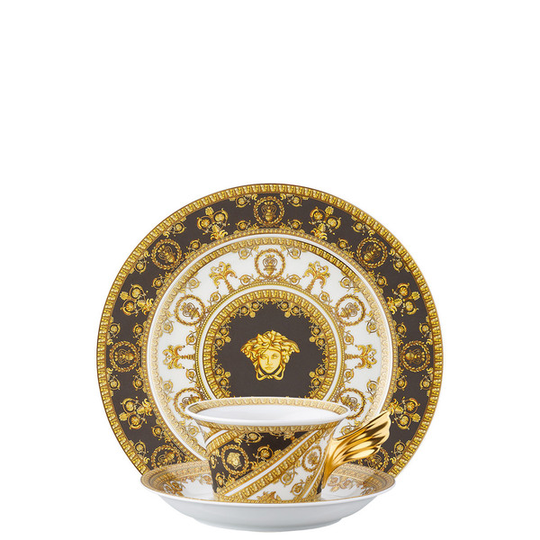 write a review for Tea Cup, Tea Saucer & Dessert Plate Set, 3 pieces | 25 Years I Love Baroque