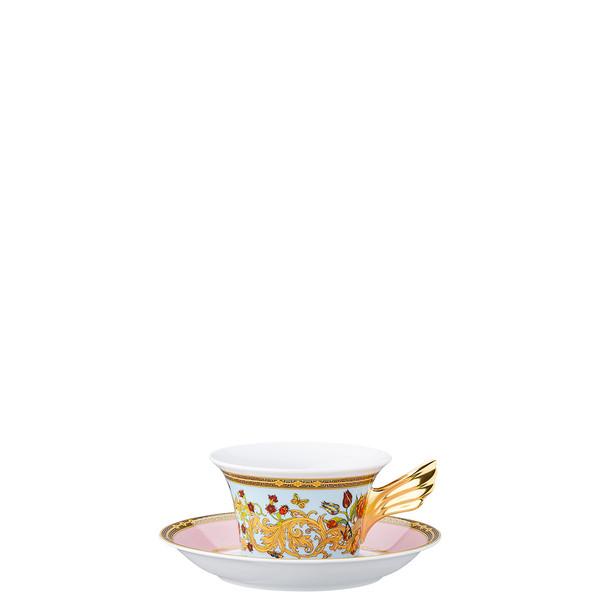Tea Cup & Tea Saucer | 25 Years Le Jardin de Versace