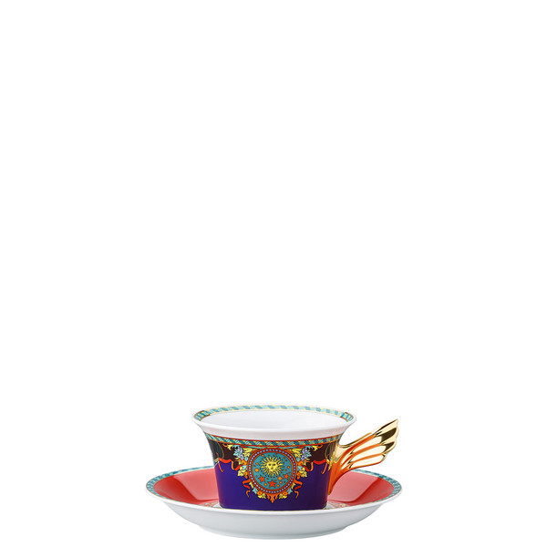 Tea Cup & Tea Saucer | 25 Years Le Roi Soleil