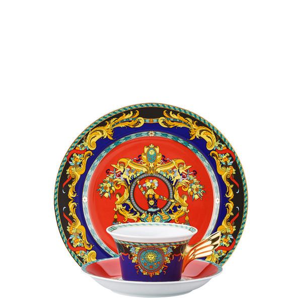 Tea Cup, Tea Saucer & Dessert Plate Set, 3 pieces | 25 Years Le Roi Soleil