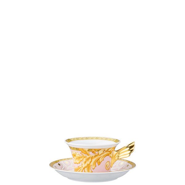 Tea Cup & Tea Saucer | 25 Years Les Reves Byzantins