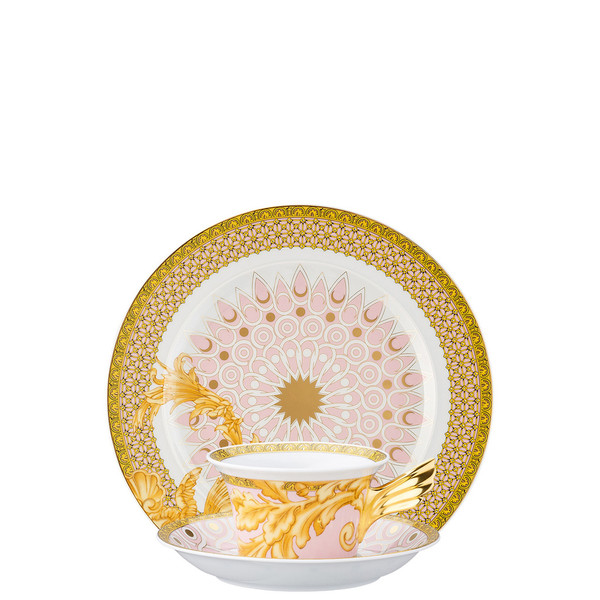 Tea Cup, Tea Saucer & Dessert Plate Set, 3 pieces | 25 Years Les Reves Byzantins