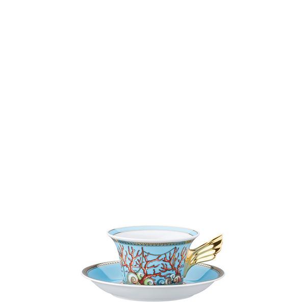 Tea Cup & Tea Saucer | 25 Years Les Tresors de la Mer