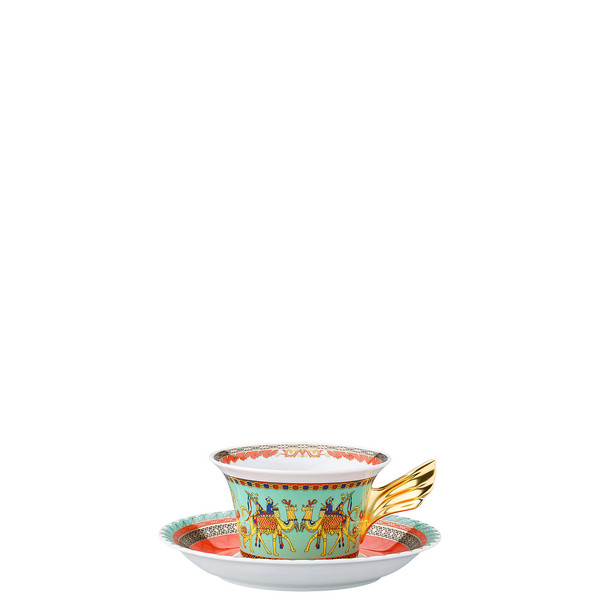 Tea Cup & Tea Saucer | 25 Years Marco Polo