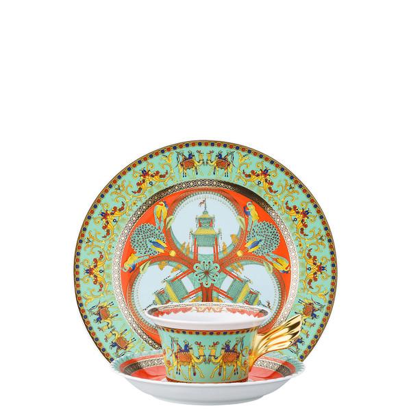 Tea Cup, Tea Saucer & Dessert Plate Set, 3 pieces   25 Years Marco Polo