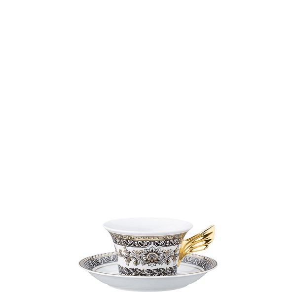 write a review for Tea Cup & Tea Saucer | 25 Years Marqueterie