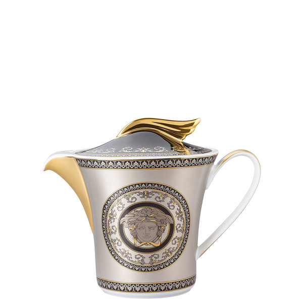 write a review for Tea Pot, 43 ounce | 25 Years Medusa Silver