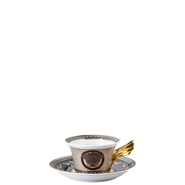 write a review for Tea Cup & Tea Saucer | 25 Years Medusa Silver