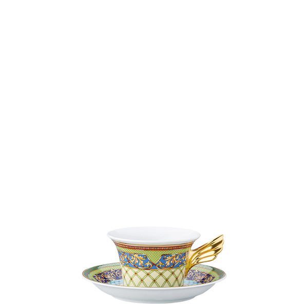 Tea Cup & Tea Saucer | 25 Years Russian Dream