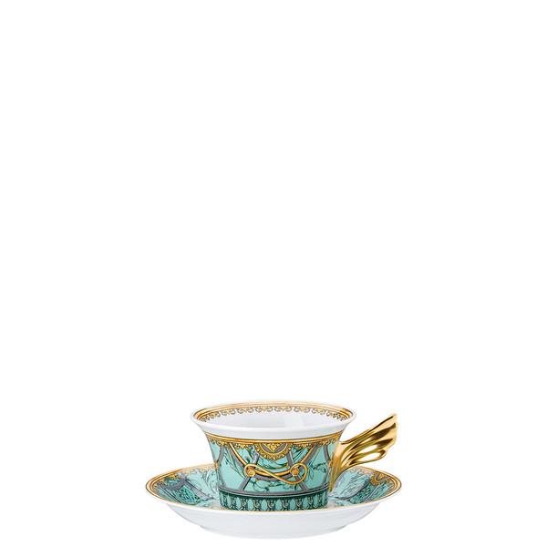 Tea Cup & Tea Saucer | 25 Years Scala Palazzo Verde