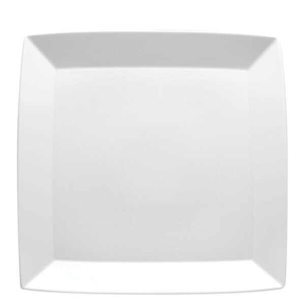 Service Plate, Square, 13 inch | Thomas Loft White