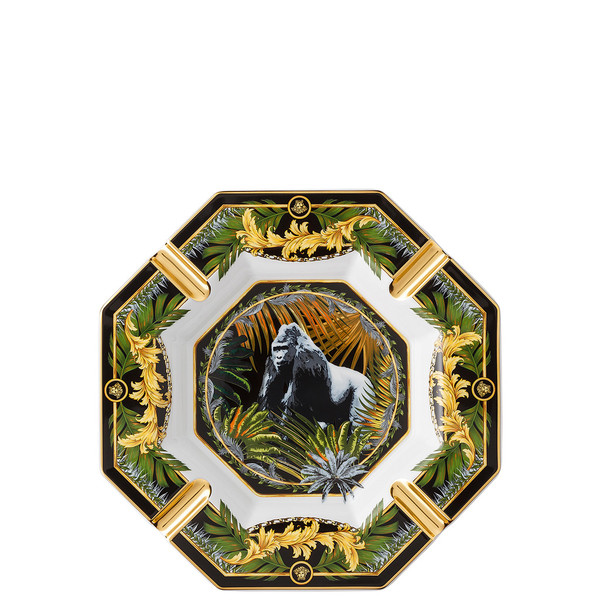 Ashtray, Bob, Gorilla, 9 1/2 inch | La Regne Animal